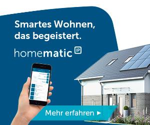 Homematic IP - Smartes Wohnen das begeistert.